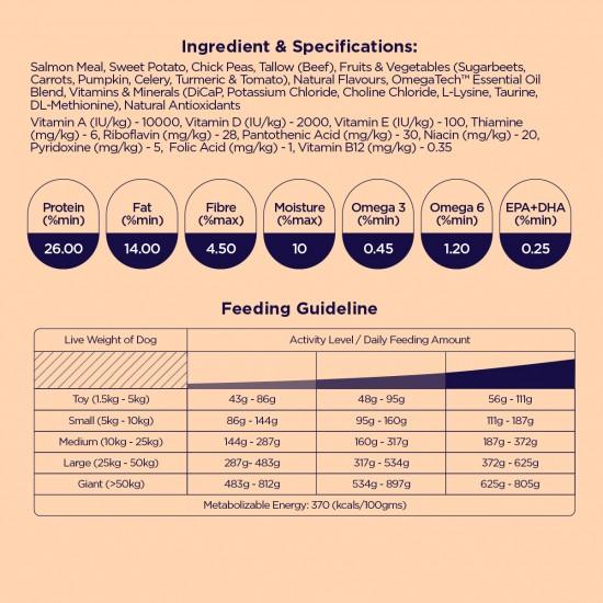 [FREE Toothbrush + Spray] Tasmanian Atlantic Salmon & Roast Vegetables 18KG